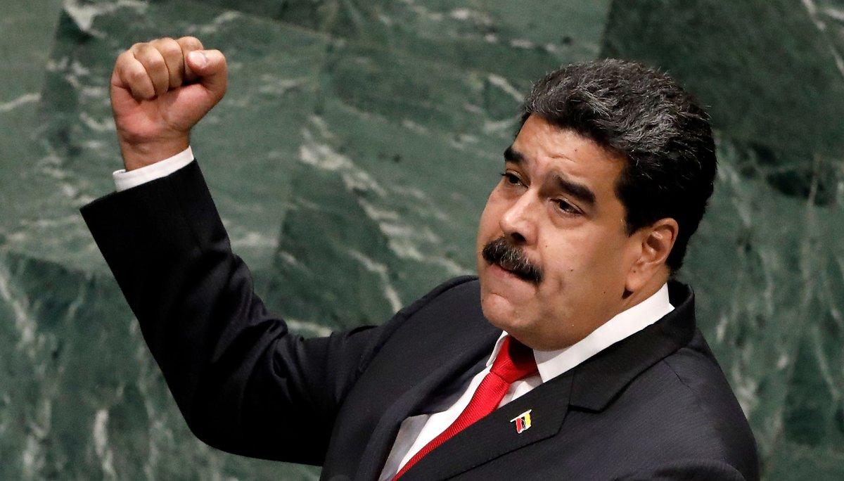 El presidente de Venezuela Nicolas Maduro asumirá el mado nuevamente este jueves.