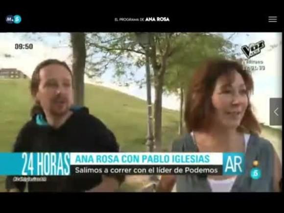 Pablo Iglesias: Me parecen más peligrosos los políticos en chalets.
