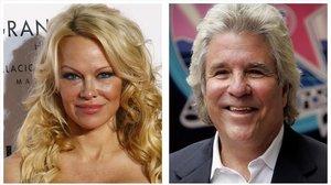 Pamela Anderson y Jon Peters.