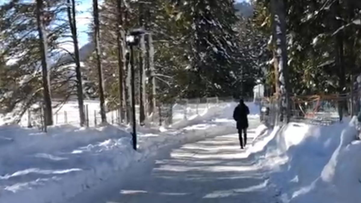 Pedro Sánchez habla por teléfono con Guaidó mientras pasea por Davos.