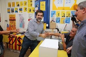El presidente de la ANC, Jordi Sànchez.