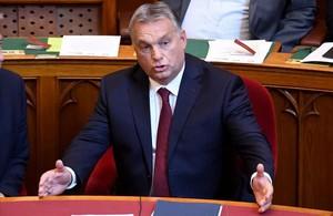 El primer ministro húngaro, Viktor Orban, en una sesión parlamentaria en Budapest.