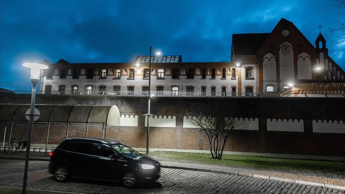 La prisión de Neumünster, en la que está encarcelado Carles Puigdemont.