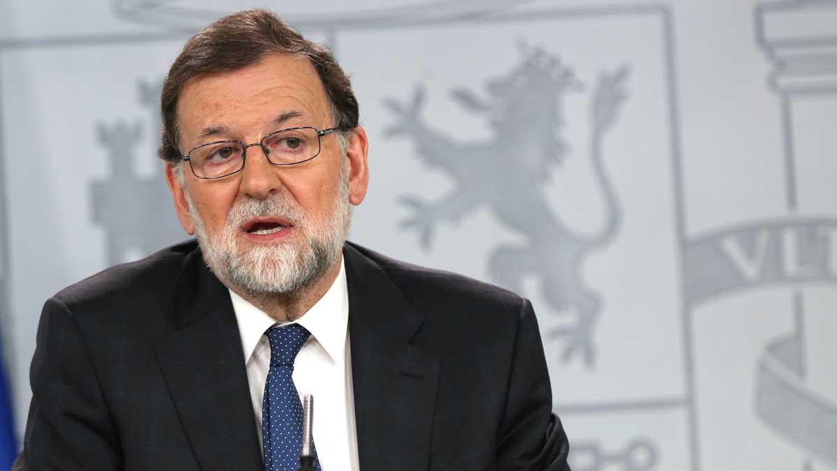 Rajoy: Sánchez pretende ser presidente a cualquier precio.