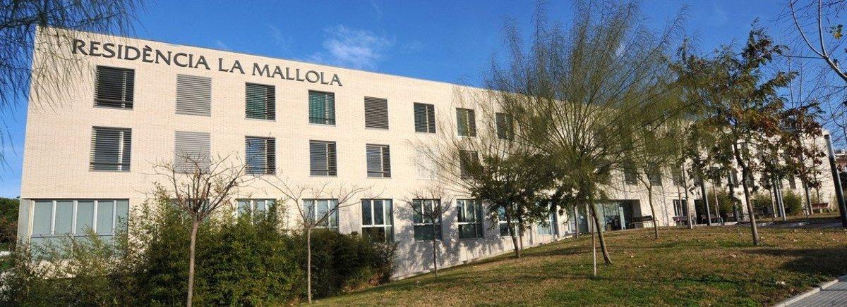 Residencia La Mallola de Esplugues de Llobregat.