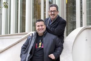 Ricard Ruiz Garzón y Francisco Díaz Valladares, ganadores de los Premios Edebé.