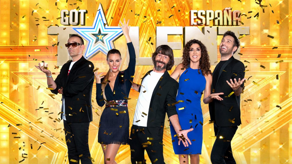 Santi Millán y el jurado de la quinta edición de 'Got Talent España'.