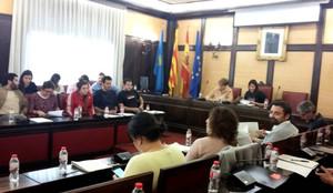 Sesión del Ayuntamiento de Santa Coloma de Gramenet.