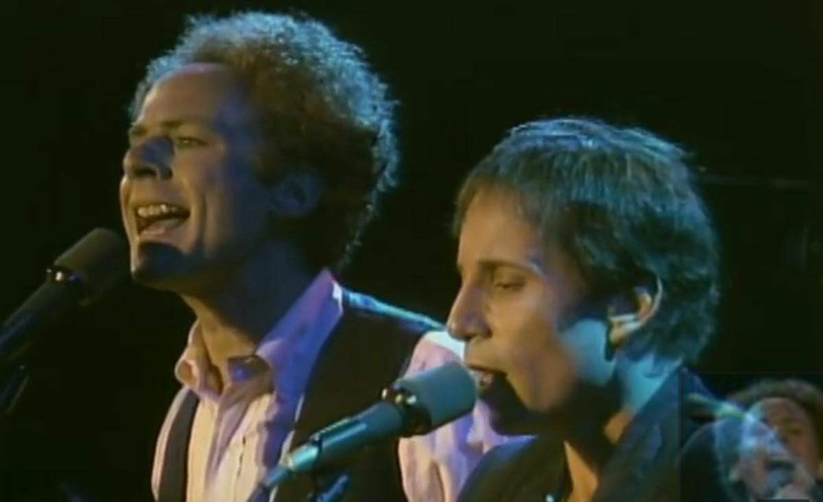Simon and Garfunkel en Central Park.