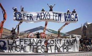El sindicato de 'riggers' y la Fira llegan a un acuerdo para suspender los procesos judiciales abiertos por el 'caso del Sónar'