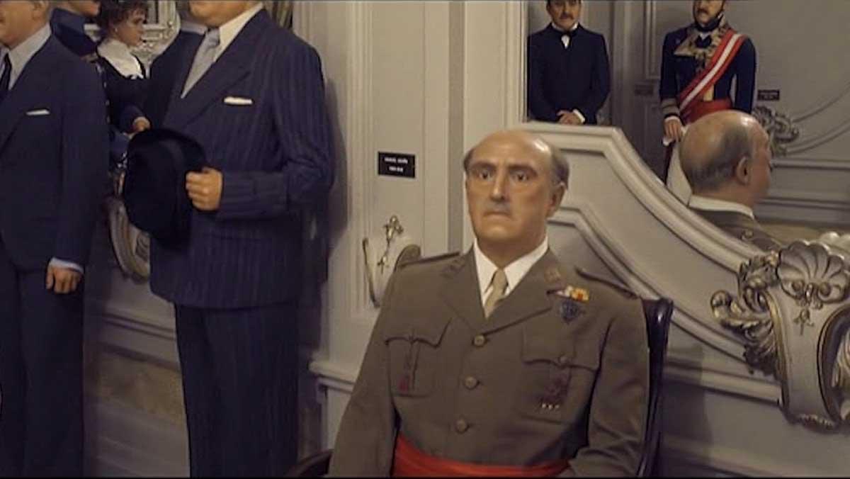 Franco, en el Museo de Cera (FAQS, TV-3).