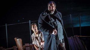Josep Maria Pou, en Moby Dick, en el Teatre Goya.