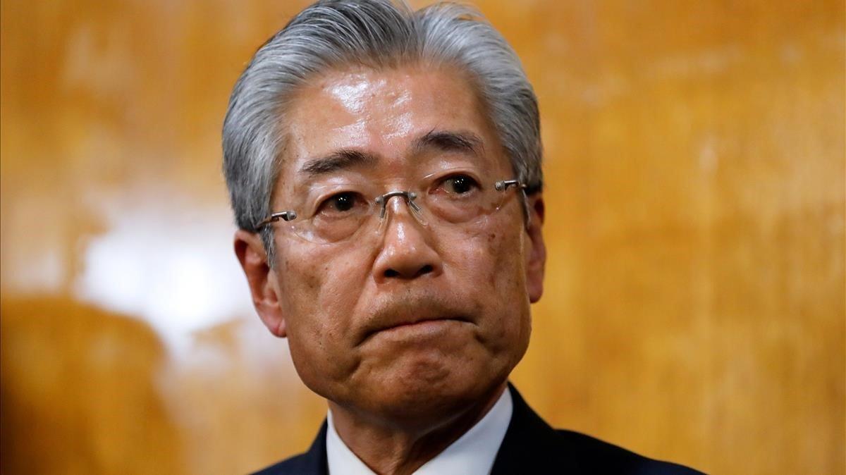 Tsunekazu Takeda, presidente del Comité Olímpico de Japón
