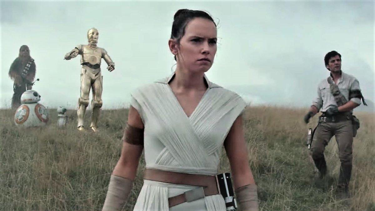 Una imagen del tráiler de 'Star wars 9: The rise of Skywalker'