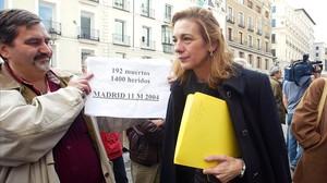 L'Audiència Nacional imposa un any i un any i mig de presó als que van insultar Manjón