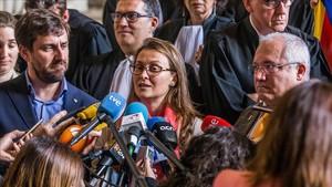 Comín i Serret demanen recusar Llarena pel seu sopar amb Alberto Fernández Díaz