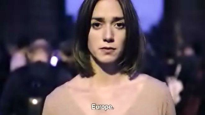 Vídeo de Òmnium Cultural en el que pide ayuda a Europa.