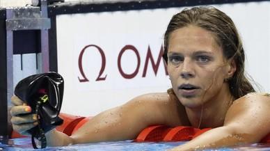 Pitada monumental a Efimova en la piscina por sospecha de dopaje