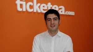 Javier Andrés, confundador de Ticketea.
