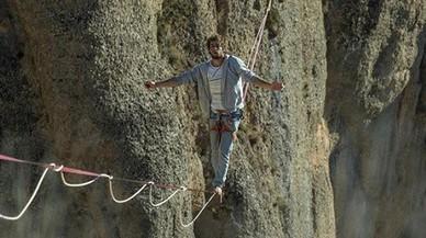 """Larent Cantier: """"A la corda fluixa estàs en el teu món i no pares de disfrutar"""""""