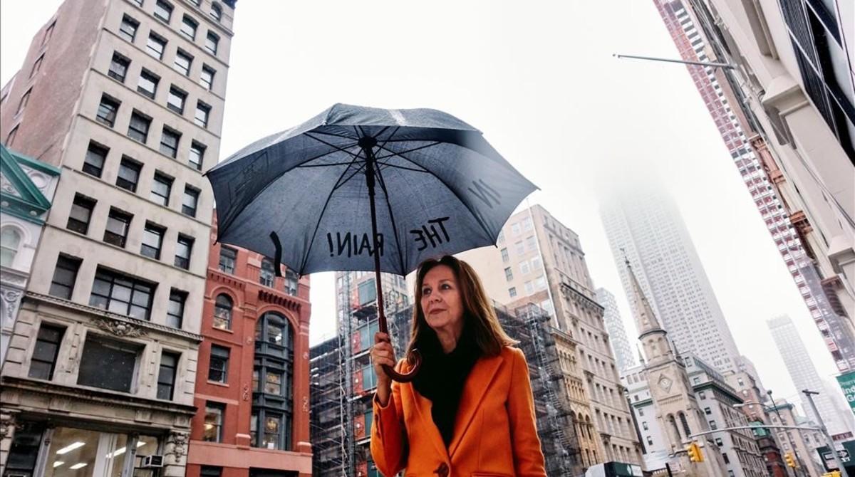 María Dueñas, en Nueva York.