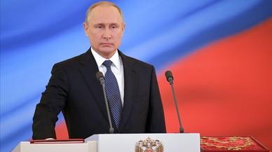 Putin inicia avui el seu quart mandat com a president de Rússia