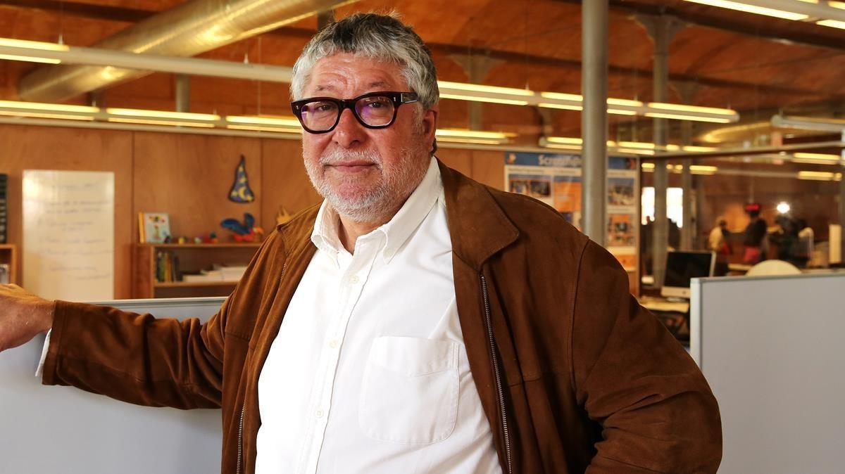 El alcalde Antonio Balmón, en el Citilab de Cornellà.