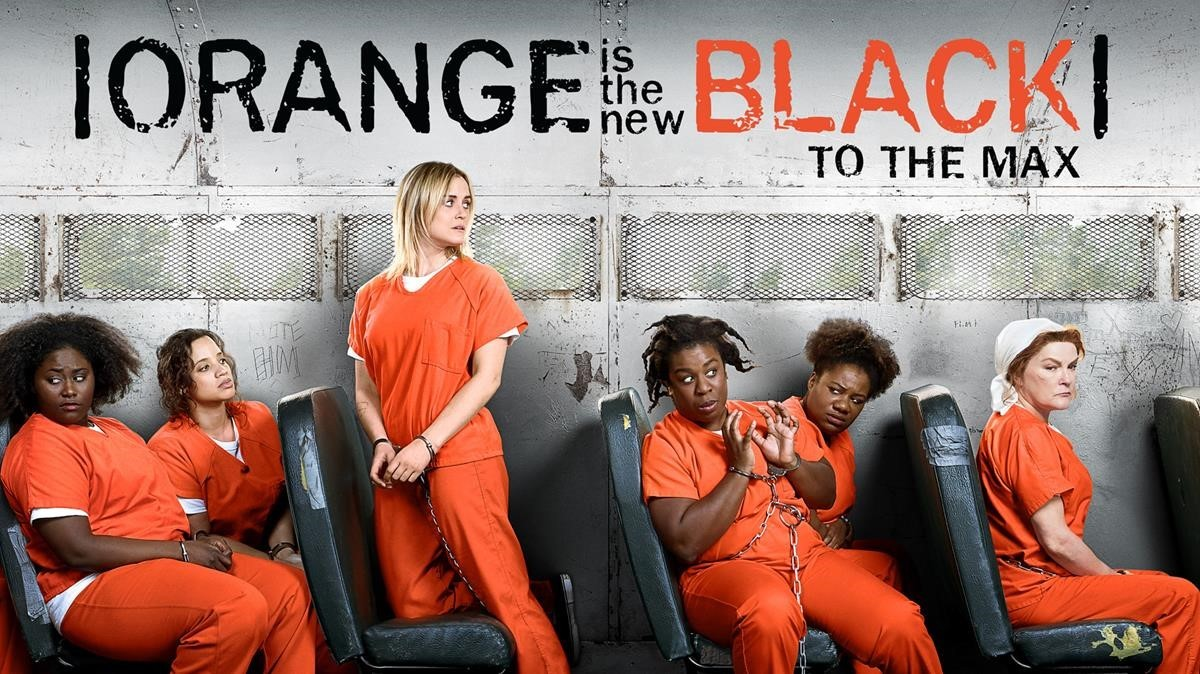 Imagen promocional de la serie de Movistar+ Orange is the new black.