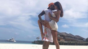Joana Sanz i Dani Alves, passió a les Maldives
