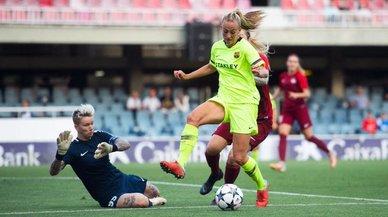El Barça remonta en el Mini y se mete en los octavos de la Champions femenina