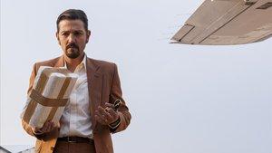 Diego Luna, en el papel de Miguel Ángel Félix Gallardo, que llegó a ser conocido como 'El padrino' de México.