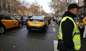 Els taxistes donen un ultimàtum a l'Administració abans de convocar la vaga per al Mobile