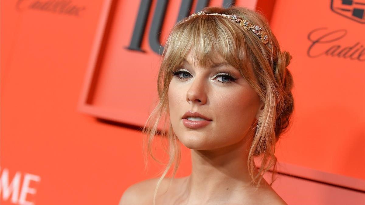 Taylor Swift, el pasado abril, en Nueva York.