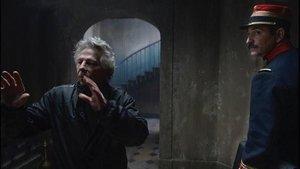 Roman Polanski, en el rodaje de 'El oficialy el espía'.