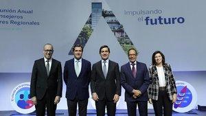 El BBVA exposa el procés de digitalització als consellers regionals del banc