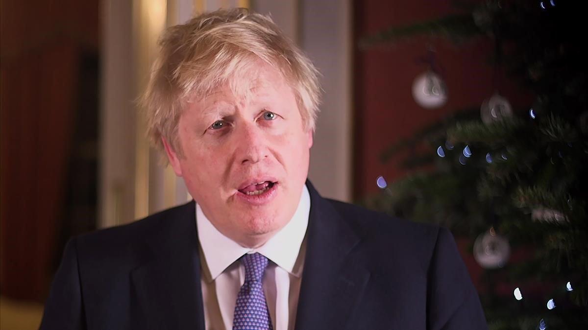 Boris Johnson demana unitat a les portes del 'brexit'