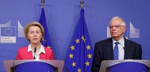Brussel·les demana el cessament immediat dels atacs i la tornada al diàleg