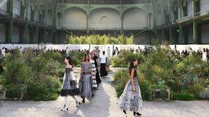 Desfile de Chanel en París, en enero pasado.