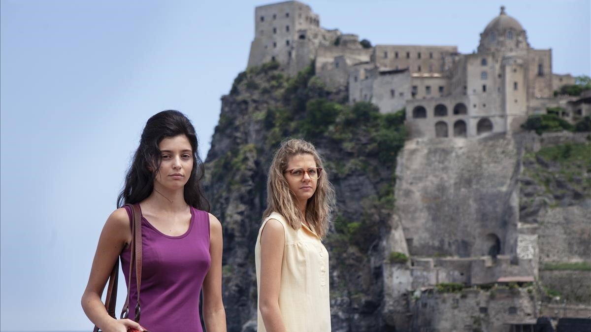Margherita Mazzuco yGaia Girace encarnan a las protagonistas enla segunda temporada de 'La amiga estupenda'.