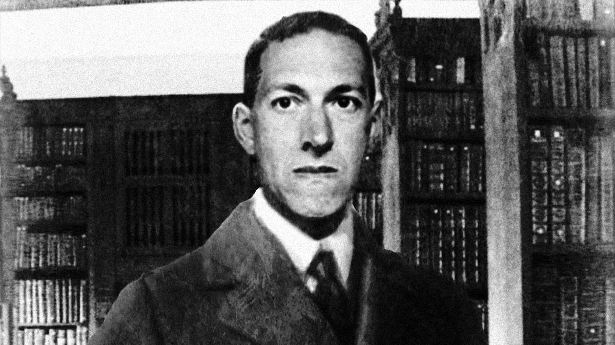 El escritor de terror H. P. Lovecraft.