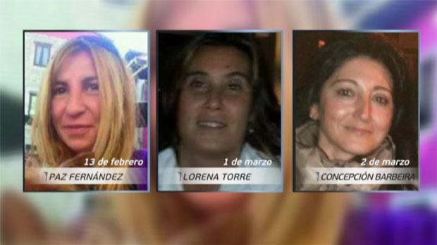 Tres mujeres desaparecidas en Asturias