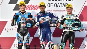 Martín gana Moto3