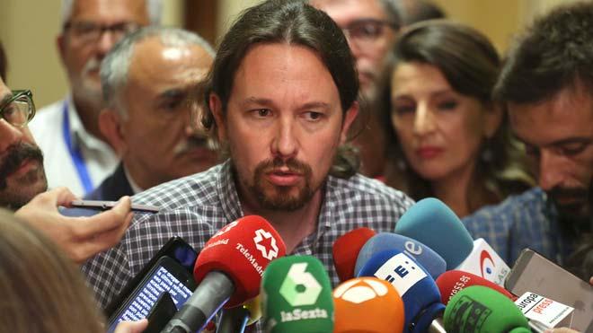 Iglesias renunciarà al Govern de coalició si no té recolzament del Congrés