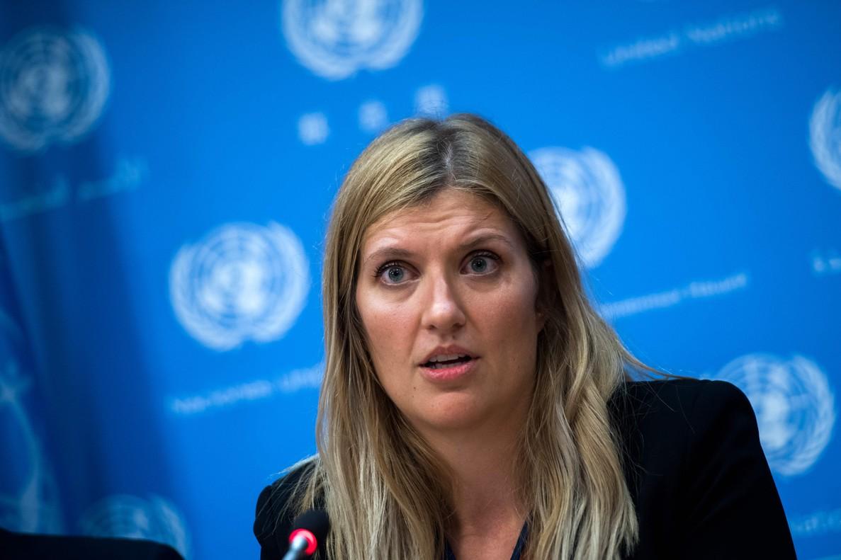 La directora ejecutiva de ICAN,Beatrice Fihn.
