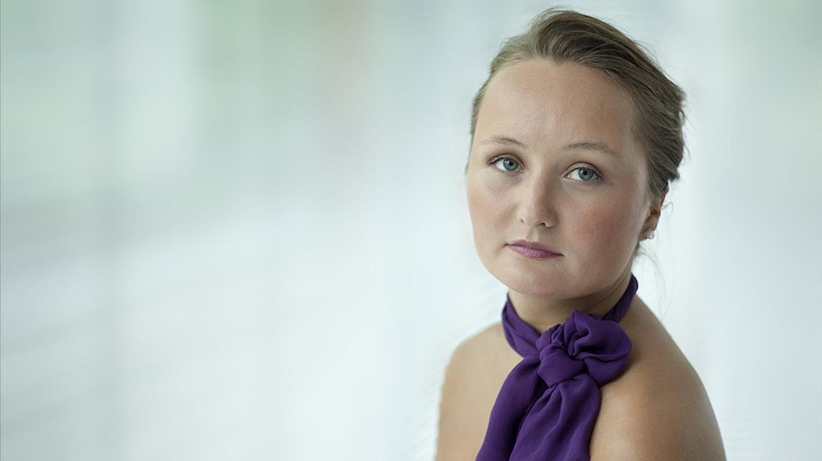 Julia Lezhneva, en una imagen promocional.