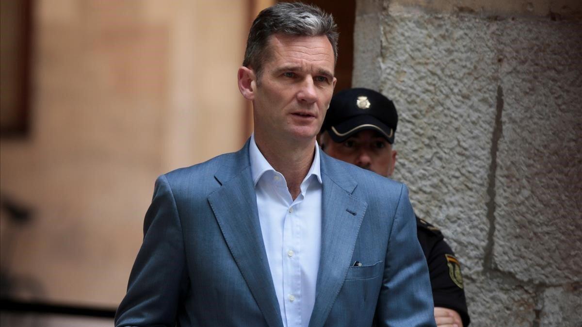 El Constitucional rebutja revisar la condemna d'Iñaki Urdangarin