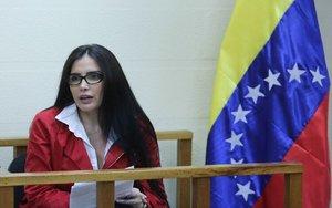 La excongresista colombiana Aida Merlano.