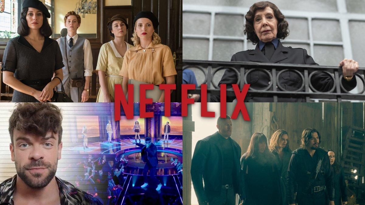 Algunas de las novedades de Netflix en el mes de julio.
