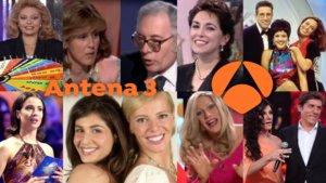Algunos de los programas más emblemáticos de los 30 años de Antena 3.