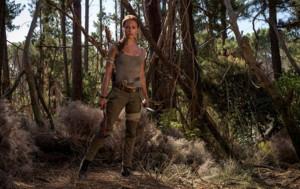 Alicia Vikander, como Lara Croft en Tomb Raider